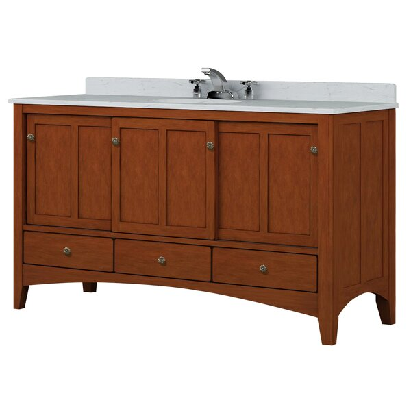 Expressions 60 Bathroom Vanity Base Only
