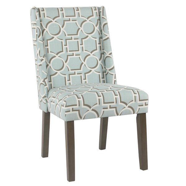 Bowers Contemporary Upholstered Dining Chair (Set of 2) by Rosecliff Heights