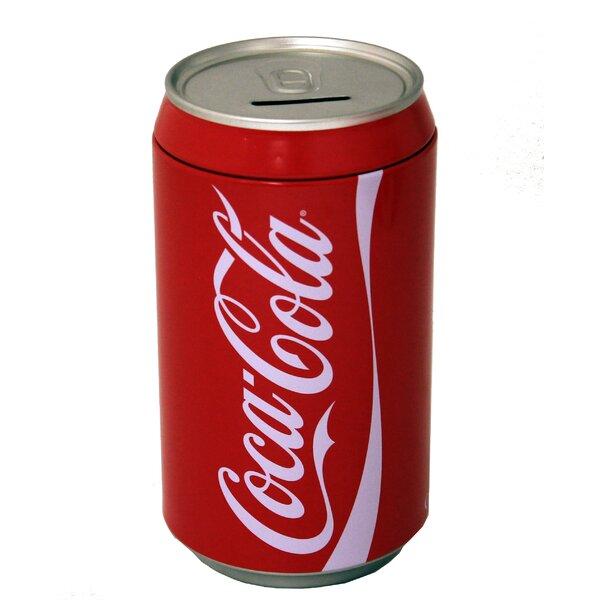 Coke Large Can Bank by Tin Box Company