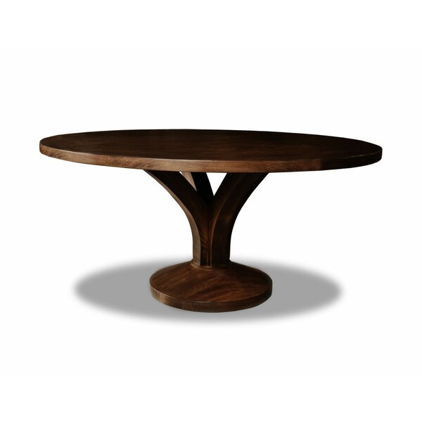 Paschke Solid Wood Dining Table by Gracie Oaks