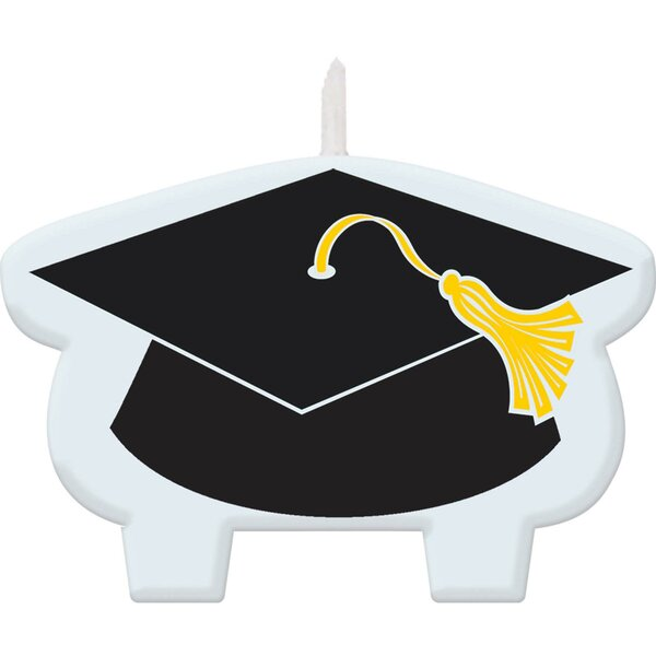 Graduation Candle (Set of 2) by Amscan