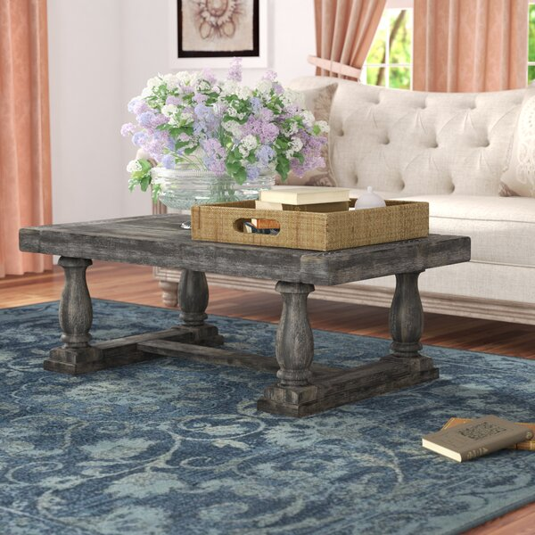 Sandiacre Trestle Coffee Table By Three Posts