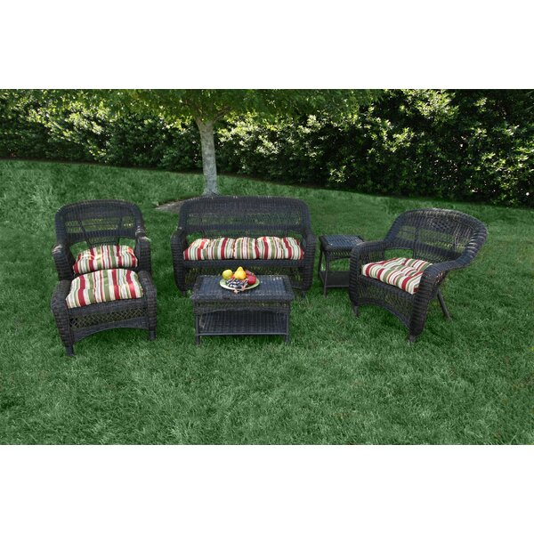 Ray 6 Piece Sofa Seating Group with Cushions by Alcott Hill