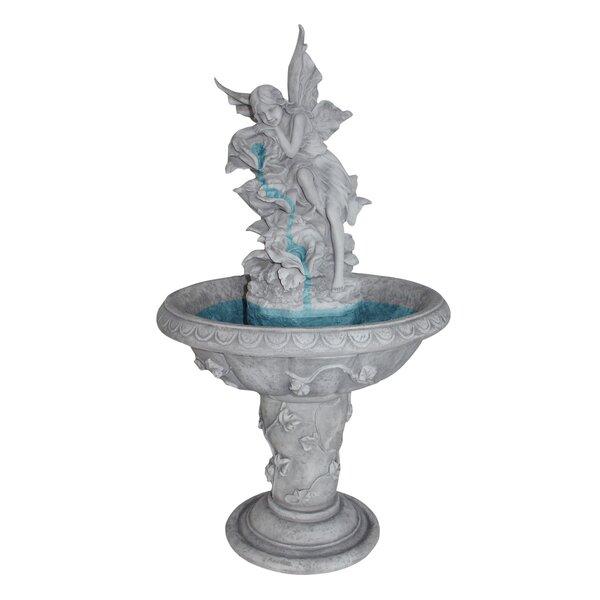 Resin Fairy Sculptural Fountain by Wildon Home ®