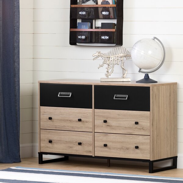 Induzy 6 Drawers Double Dresser by South Shore