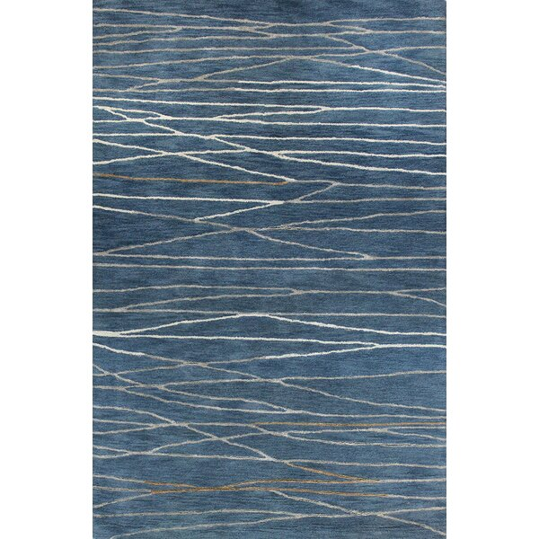 Soleia Hand-Tufted Azure Area Rug by Zipcode Design