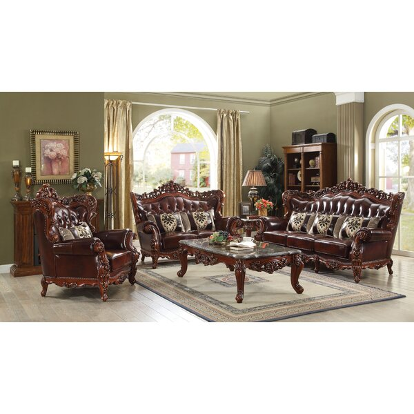 Misael Reclining Configurable Living Room Set by Astoria Grand