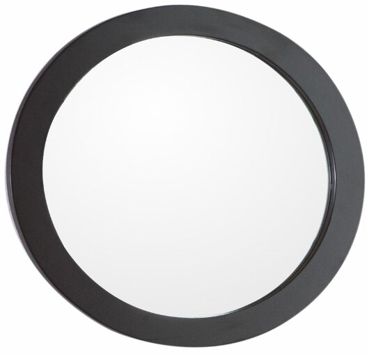 Round Framed Bathroom/Vanity Wall Mirror by Bellaterra Home