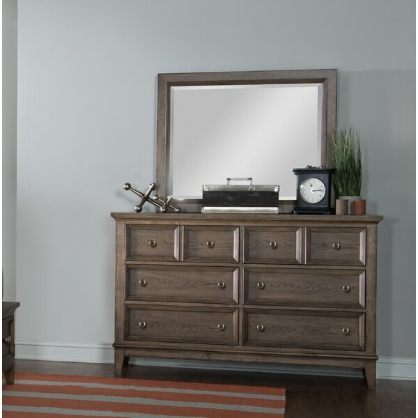 Mei 6 Drawer Double Dresser with Mirror by Charlton Home