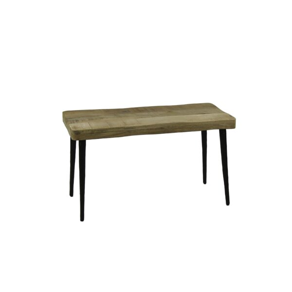 Lecuyer Wood Bench by Union Rustic