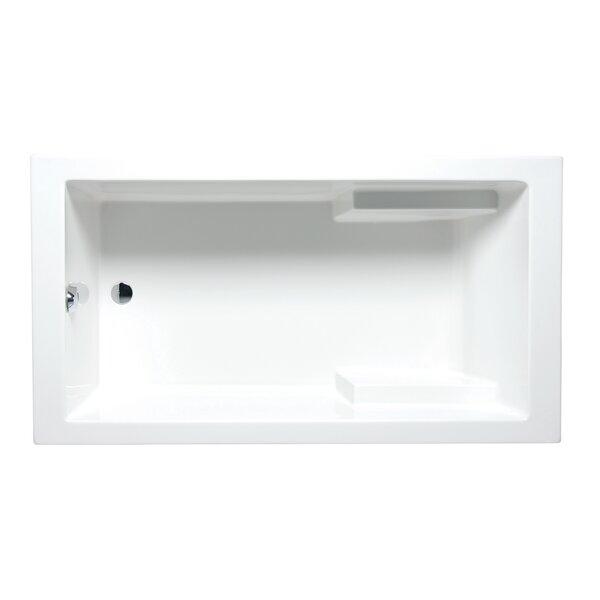 Nadia 72 x 36 Drop in Soaking Bathtub by Americh