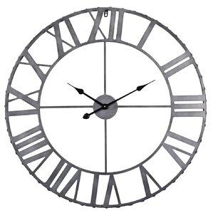 Black And White Wall Clock rustic wall clocks you'll love | wayfair