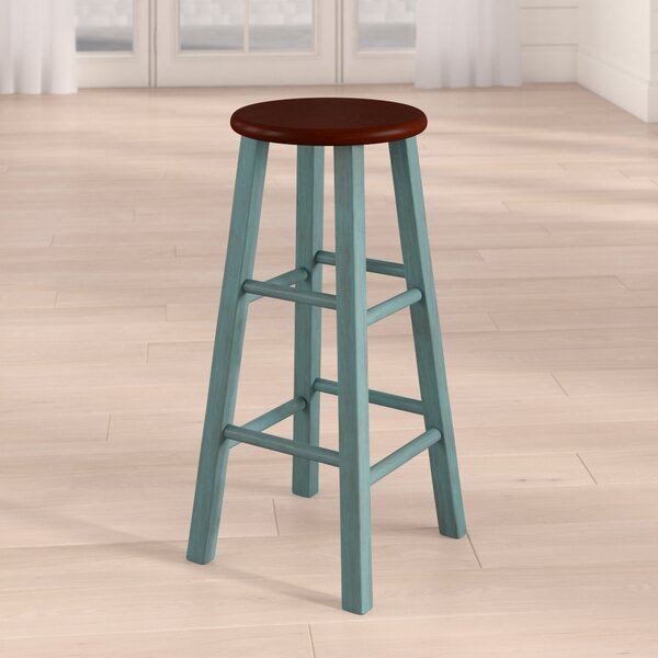 Cannady 29 Bar Stool by Highland Dunes