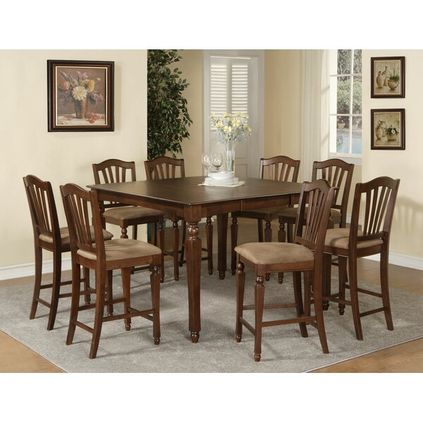 Find Ashworth 9 Piece Counter Height Pub Table Set By Darby Home Co Today Only Sale