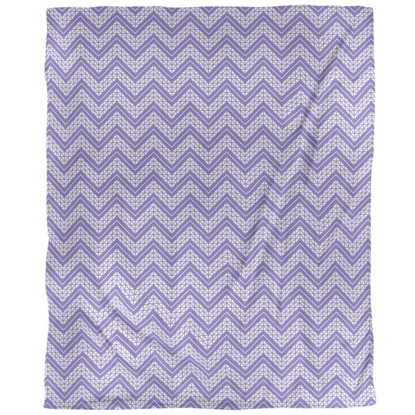 Stephenie Hand Drawn Chevron Pattern Single Duvet Cover