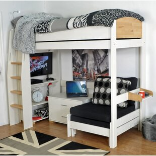 Norfolk Single High Sleeper Bed With Storage By Kids Avenue