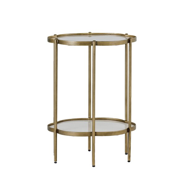 Clementine Flower End Table by Gabby