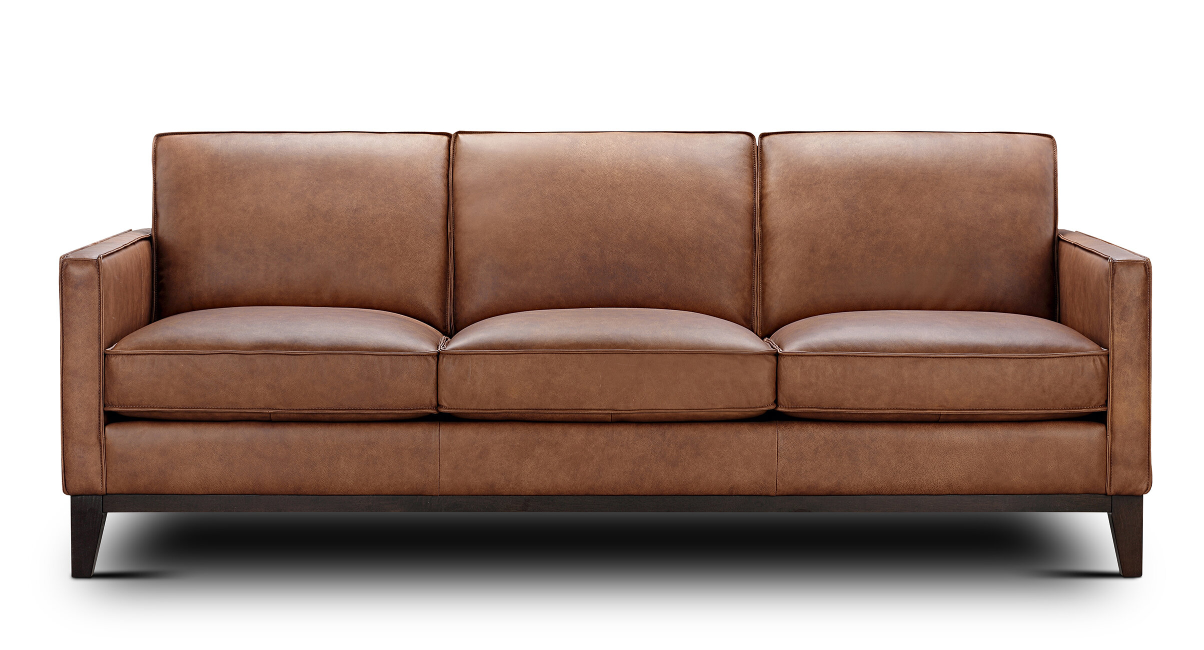 Foundry Select Whitson Leather Sofa