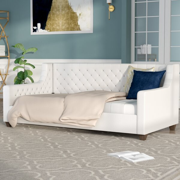 Pihu Tufted Upholstered Daybed by Willa Arlo Interiors