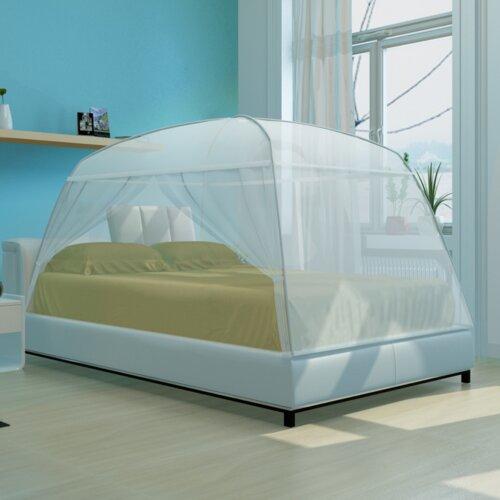 Himmelbett Mongolei Home Etc Größe: 120 x 130 cm | Schlafzimmer > Betten > Himmelbetten | Home Etc