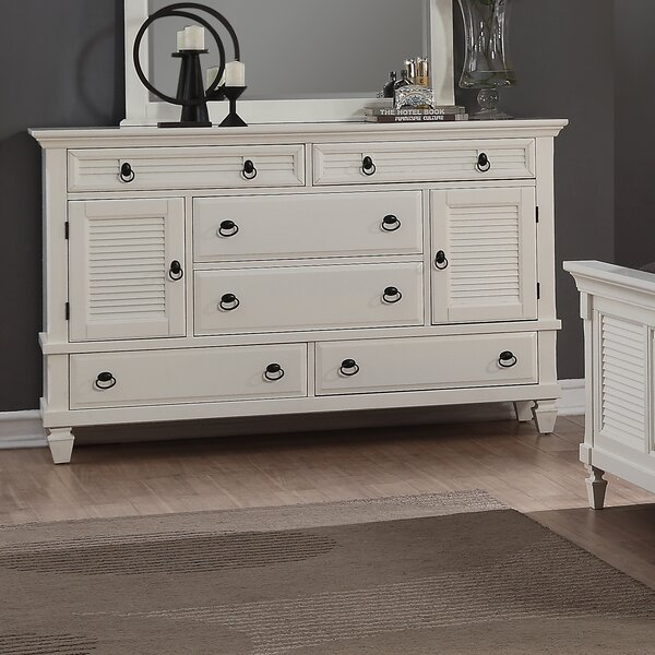 Stratford 6 Drawer Combo Dresser by Highland Dunes