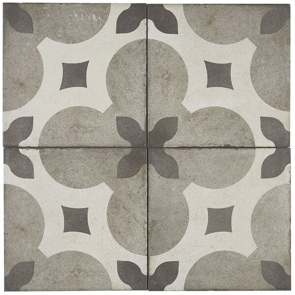 8 x 8 Porcelain Field Tile in Piccolo Fiore by Itona Tile