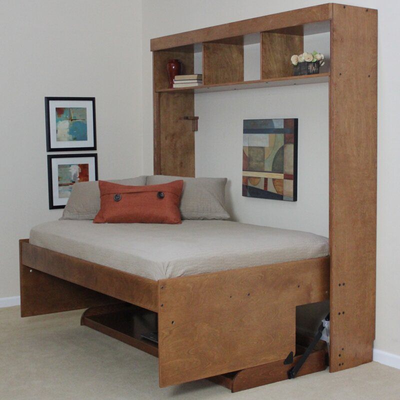 Wallbeds modern birch murphy bed reviews wayfair - Searching for a contemporary murphy beds ...