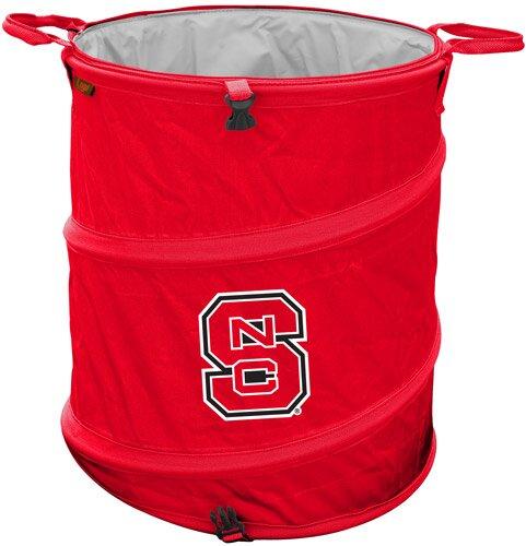 Collegiate Trash Can - North Carolina State by Logo Brands