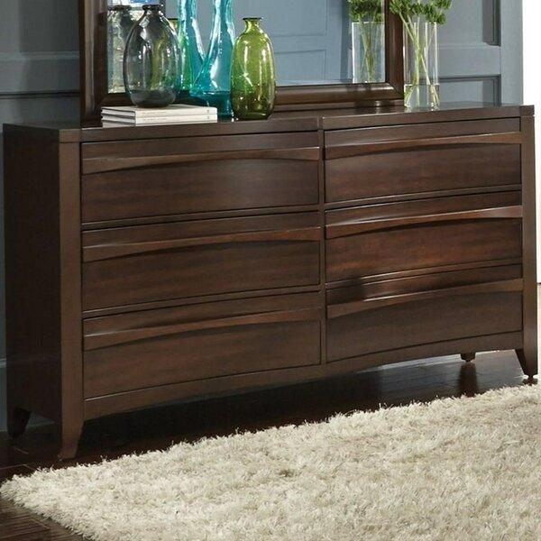 Steinhoff 6 Drawer Double Dresser by Winston Porter