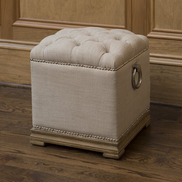 Lyon Cube Ottoman by The Bella Collection