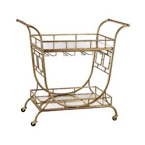 Stonebridge Bar Cart by Willa Arlo Interiors