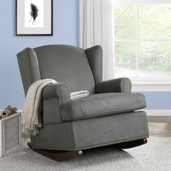 Mikala Wingback Rocker : nursery recliner chair - islam-shia.org