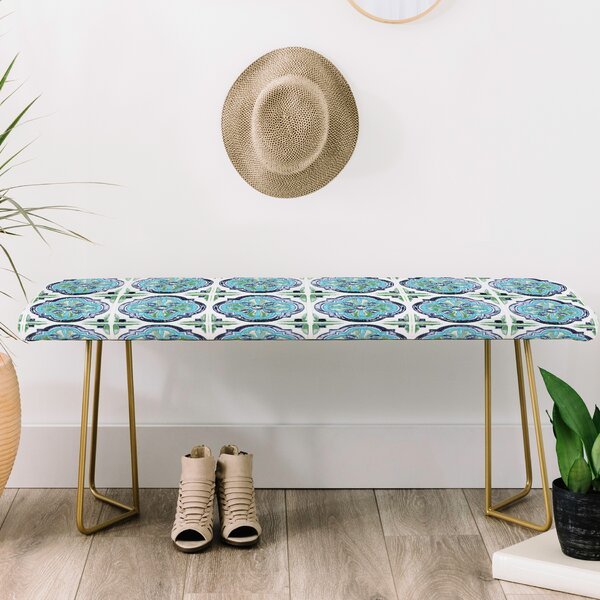 Antique Bohemia Upholstered Bench by East Urban Home