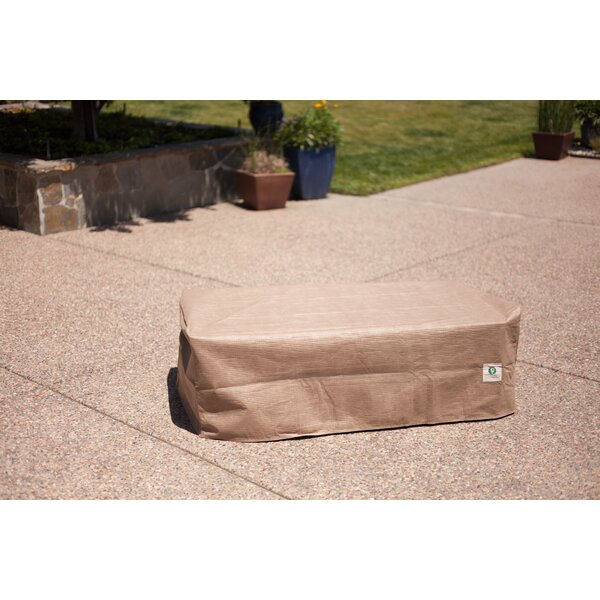 Audrey Patio Ottoman/Side Table Cover by Freeport Park
