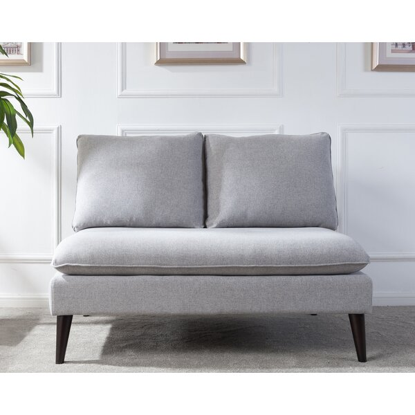 Modern Beautiful Amesbury Settee by George Oliver by George Oliver