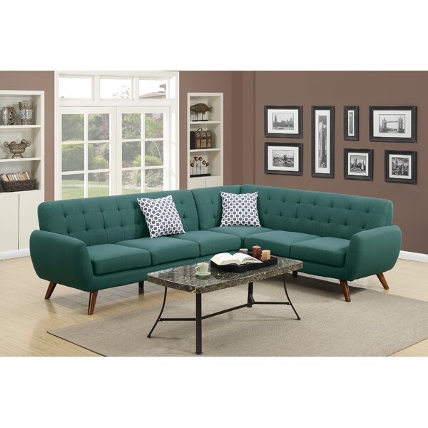 Large Selection Austell Right Hand Facing Sectional by Wrought Studio by Wrought Studio