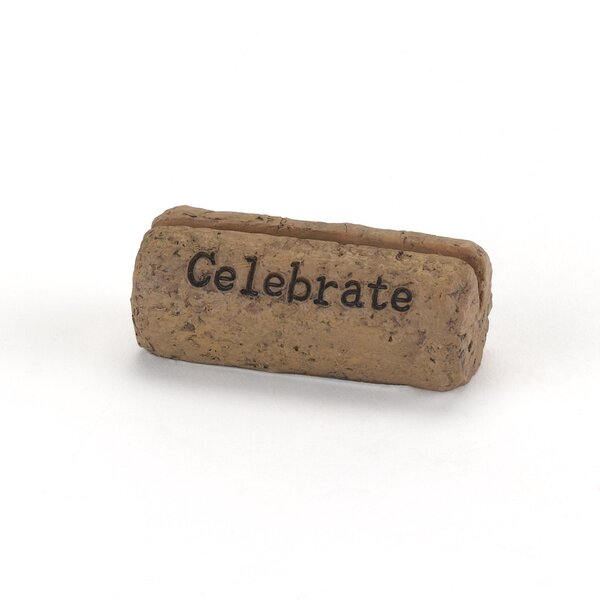 Cork Place Card Holder by The Holiday Aisle
