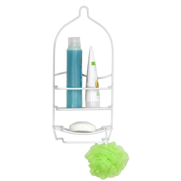 Vinyl Coated Shower Caddy by Home Basics