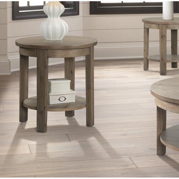 Scoggins End Table By Gracie Oaks