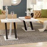 Keziah 3 Piece Coffie Table Set by Wade Logan®