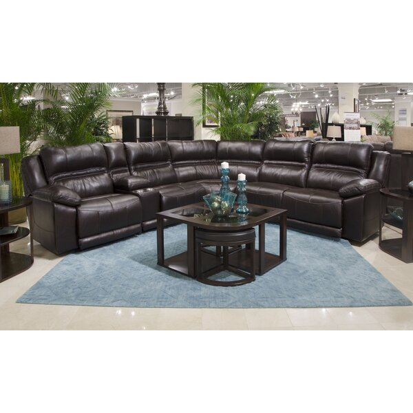 Bergamo Leather Sectional by Catnapper