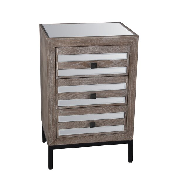 Gardner 3 Drawer Accent Chest by Union Rustic