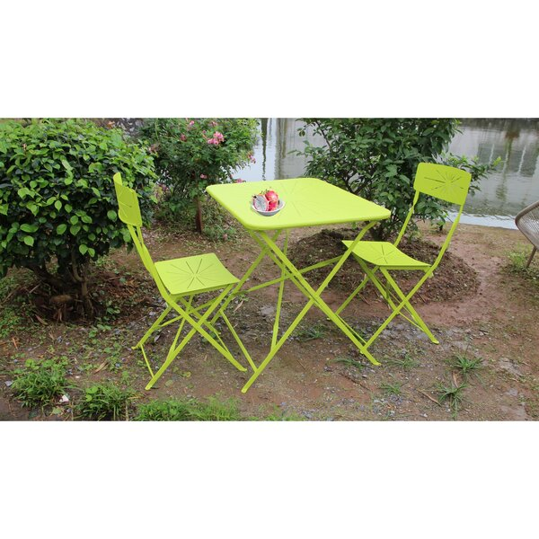 Lexie 3 Piece Bistro Set by Ivy Bronx