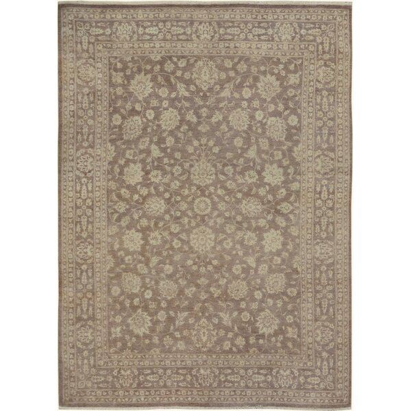 One-of-a-Kind Dorn Hand-Knotted Wool Beige/Light Brown Area Rug by Isabelline