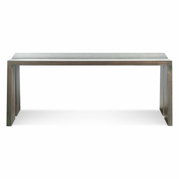 Amicable Split Wood Bench by Blu Dot