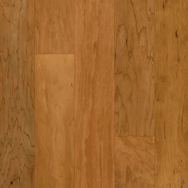 5 Engineered Cherry Hardwood Flooring in Sugared Honey by Armstrong Flooring
