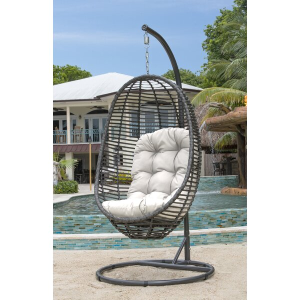 Swing Chair with Stand by Panama Jack Outdoor