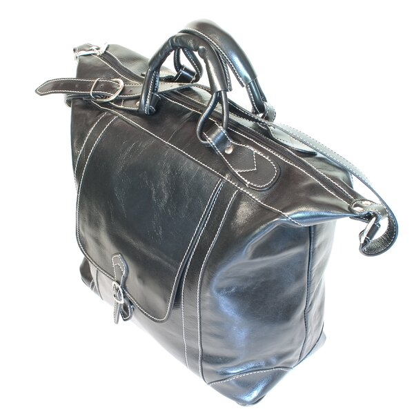 Tack 16 Leather Travel Duffel by Floto Imports