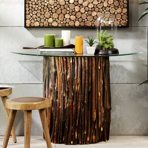 INK+IVY Topi Console Table Image