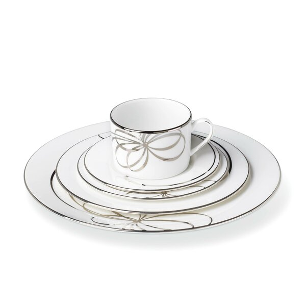 Belle Boulevard Bone China 5 Piece Place Setting, Service for 1 by kate spade new york